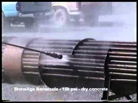 StoneAge 20k & 40k psi Barracuda®