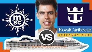 Royal Caribbean or MSC, find out which one is better. Both are very...