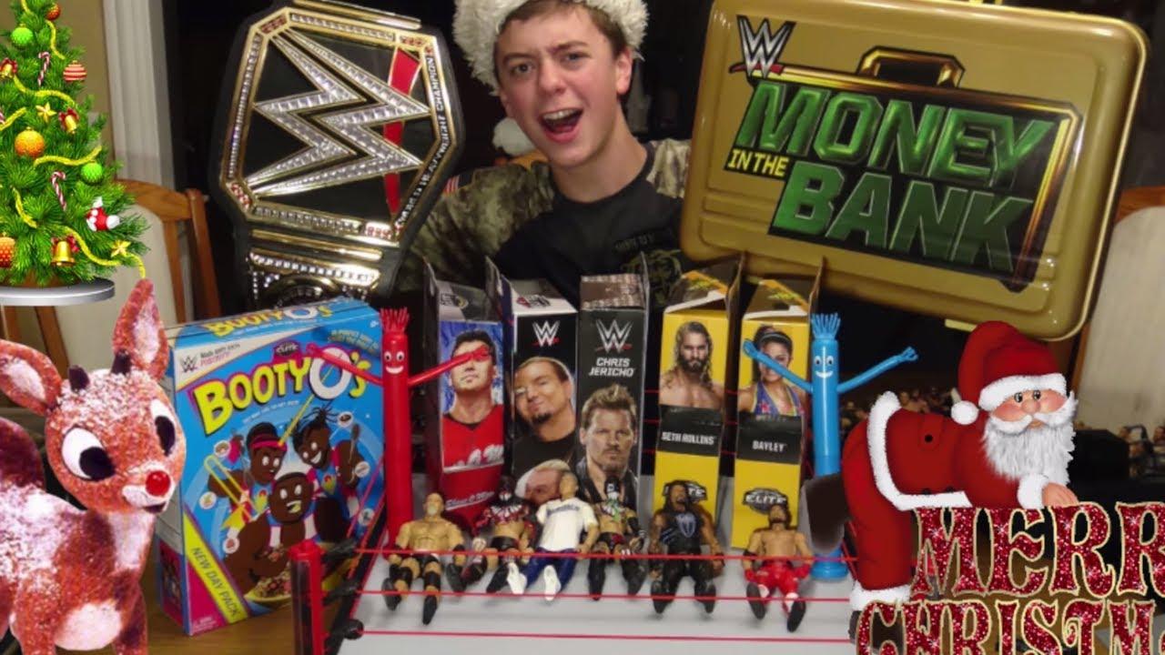Top 10 WWE Figure Christmas Gifts 2017 - YouTube
