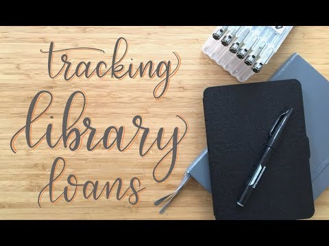 Bullet Journal Collections | Library Loans