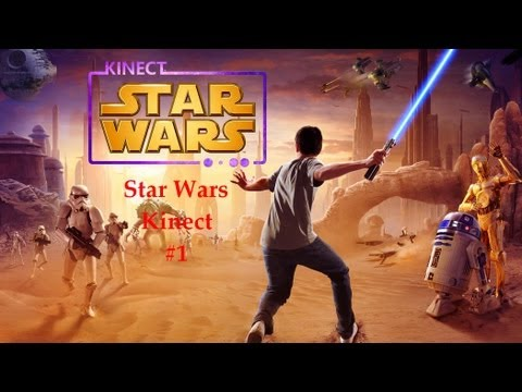 Star Wars Kinect #1 - Я ДЖЕДАЙ!!!