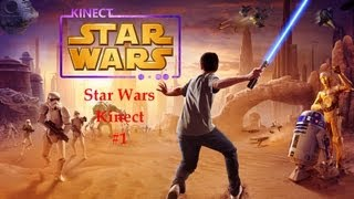 Star Wars Kinect - I am jedi!