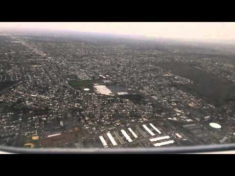 Landing and taxing on New York - JFK vectoring and long final