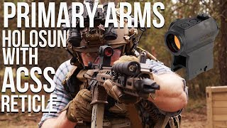 Primary Arms Holosun Micro Red Dot Sight   A cheap Aimpoint alternative?!
