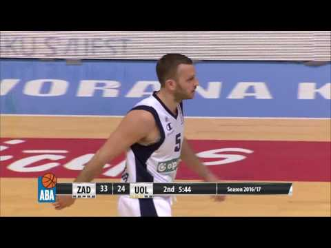 ABA Liga 2016/17 highlights, Round 26: Zadar - Union Olimpija (12.3.2017)