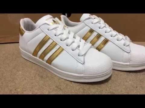 3986ae254c7 adidas originals superstar douradas