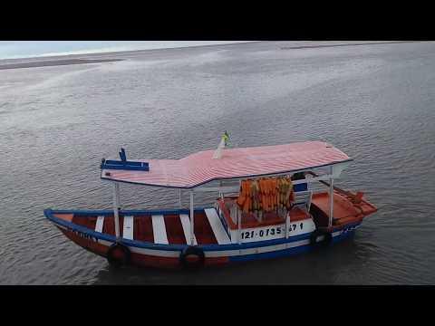 Cidade de Raposa Maranhão Final de Semana Barcos de Pesca