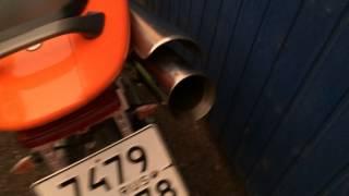 Выхлоп прямоток на honda cb600 hornet(Поставил прямоток) вроде не плохо звучит)), 2014-08-22T09:11:17.000Z)