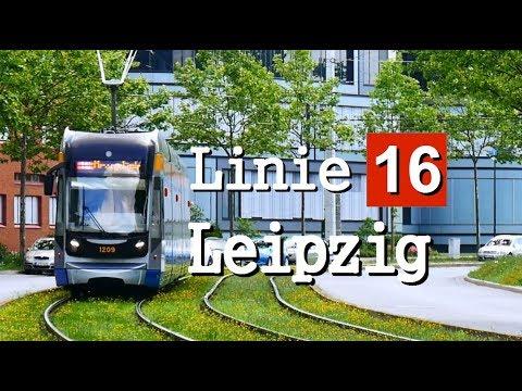 [Doku] Linie 16 Leipzig (2017)| Messegelände - Lößnig