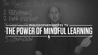 PNTV: The Power of Mindful Learning by Ellen Langer