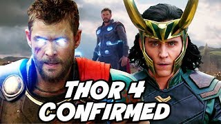 Thor 4 Confirmed after Avengers 4 and Avengers Infinity War