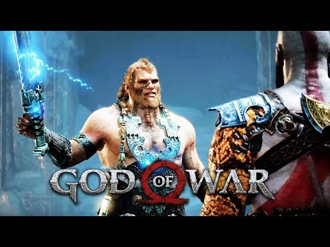 MAGNI AND MODI vs KRATOS Full Boss Fight (Thor's Sons) GOD OF WAR 2018 [PS4 PRO]