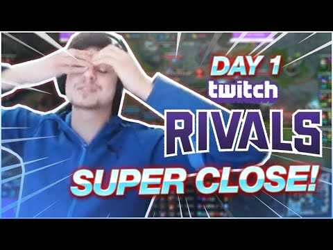 LL STYLISH | I CANT BELIEVE HOW CLOSE EVERY GAME IS! (Twitch Rivals)