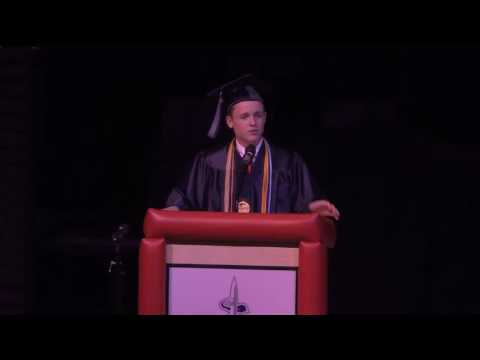 Luke Hoover Commencement Address - Fairfield Christian Academy 2017