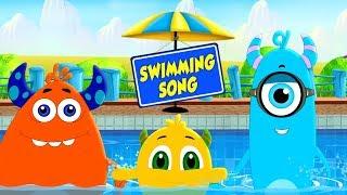 Swimming Song | Momo Beats | Nursery Songs For Children | Kids Cartoons