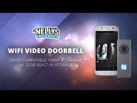 NSC-DB1 Onvif Compatible Wifi Doorbell 1080p IP Camera W