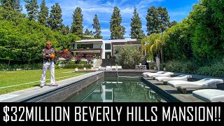 OUR BEST MANSION TOUR EVER?! ($32MILLION BEVERLY HILLS HOME)
