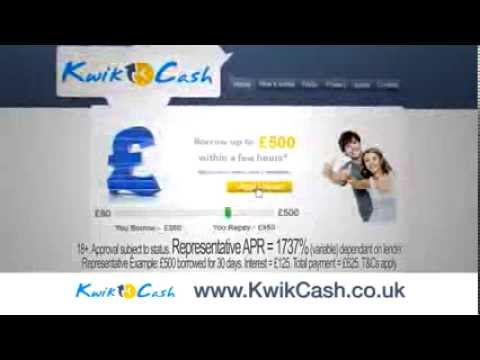 KwikCash TV advert. from YouTube · Duration:  31 seconds  · 3,000+ views · uploaded on 3/13/2012 · uploaded by KwikCash
