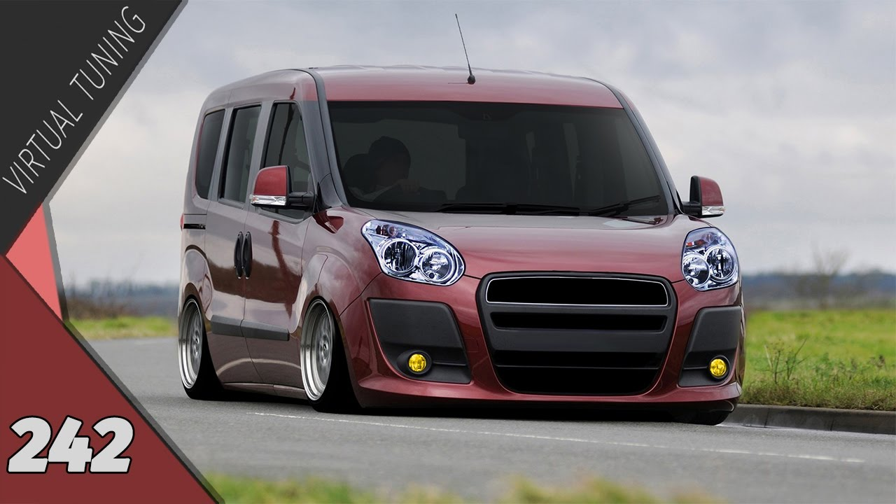 Virtual Tuning Fiat Doblo 2012 242 Youtube