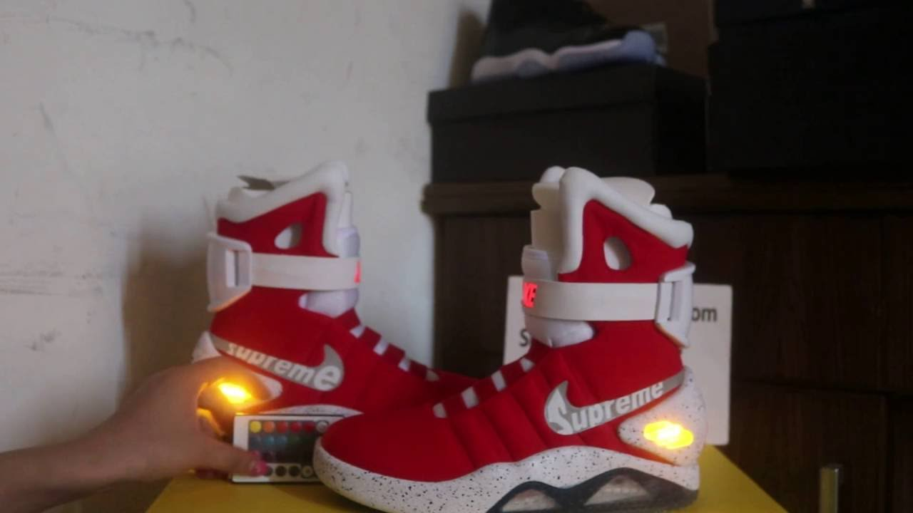 Back To The Furture  Nike Shoes