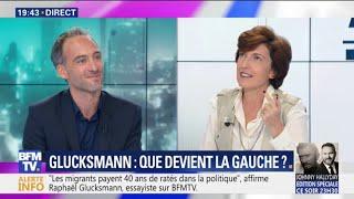 """Raphaël Glucksmann estime que """"les migrants payent 40 ans de ratés dans la politique"""""""