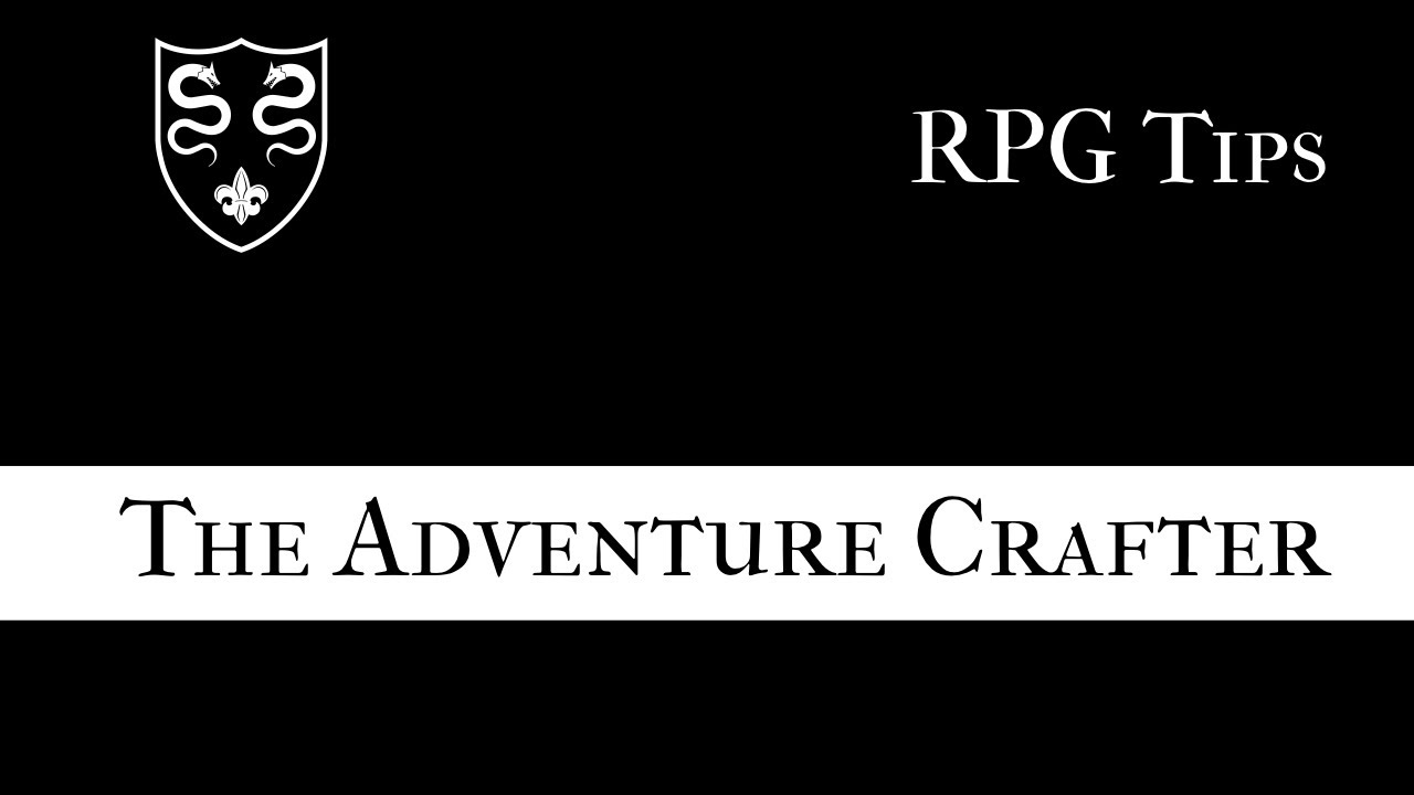 Solo RPGs: The Adventure Crafter - YouTube
