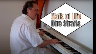 Walk of Life - Dire Straits | MauColi (Original Piano Cover) видео