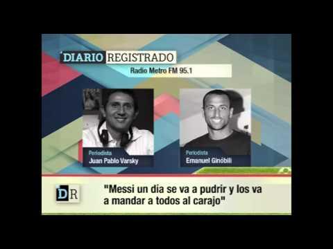 Tiene aguante: Manu defendió a Messi y apuntó contra los detractores
