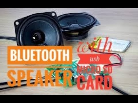 build your own bluetooth speaker kit !! DIY Bluetooth speaker !! How to  make !! DIY