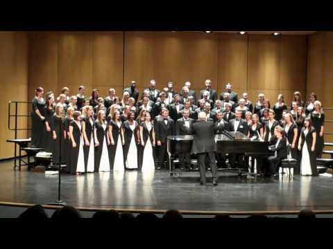 """""""Zions Walls"""" Aaron Copland/Arr. Koponen; BSC Combined Choir"""