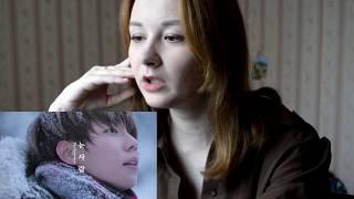 정승환 (Jung Seung Hwan) - 눈사람 (The Snowman) 반응 MV REACTION