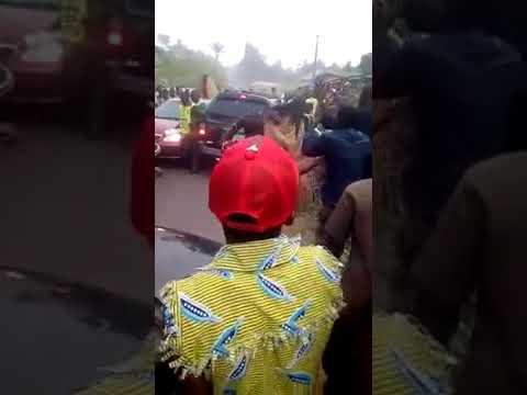 Pandemonium As Masquerades And Lord's Chosen Mopols Encounter In Public (Watch Video)
