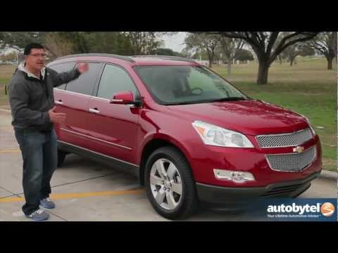 2012 Chevrolet Traverse Test Drive & Crossover SUV Review