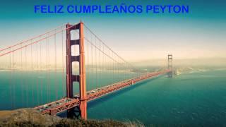 Peyton   Landmarks & Lugares Famosos - Happy Birthday