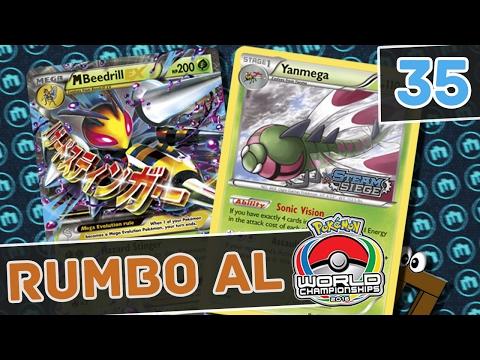 Deck de Mega Beedrill EX con Yanmega BREAK! #035 [Pokemon TCG Online]