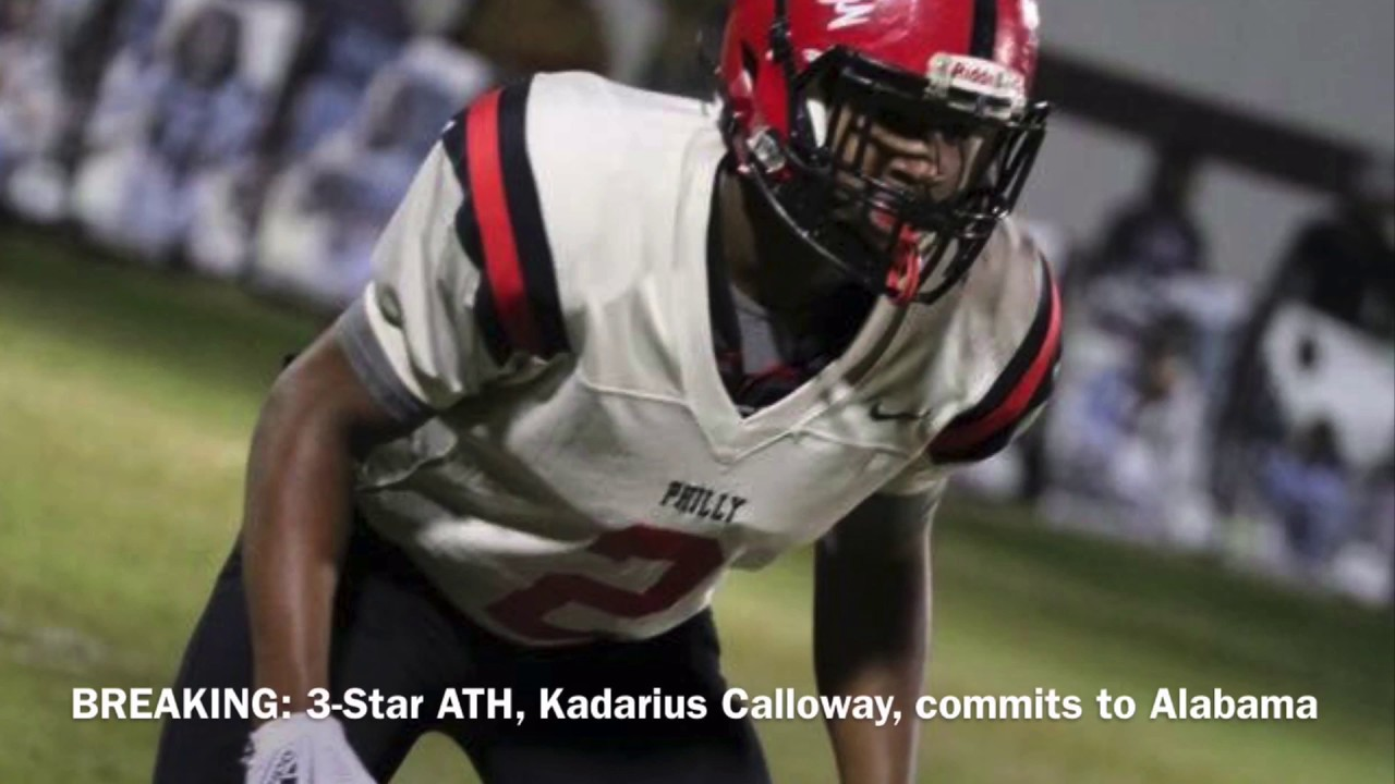 BREAKING: 3-Star ATH, Kadarius Calloway, commits to Alabama