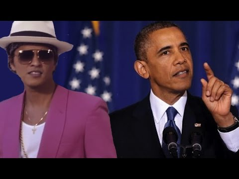 Obama sings uptown funk what s trending now youtube