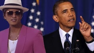 Obama Sings UPTOWN FUNK | What's Trending Now