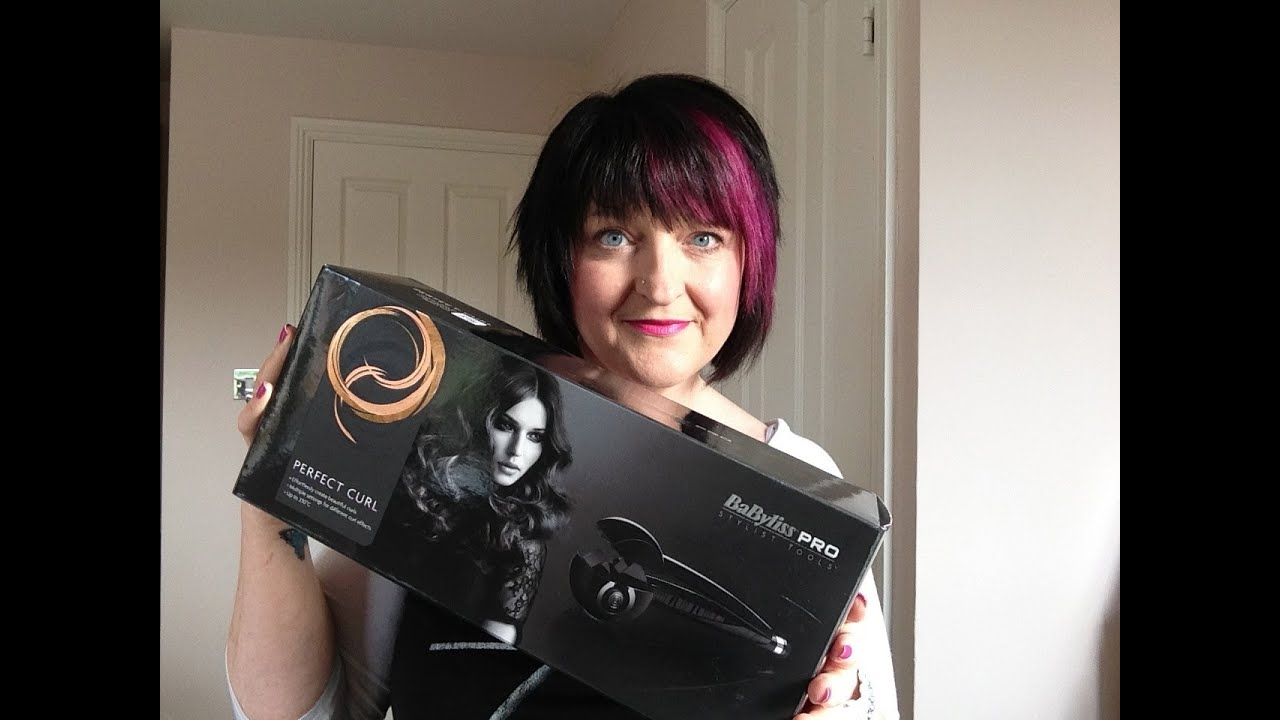 Babyliss perfect Curl and Chunky foil Highlights - YouTube