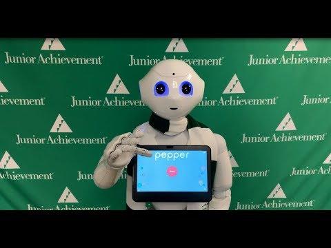 Pepper The Robot Visits JA