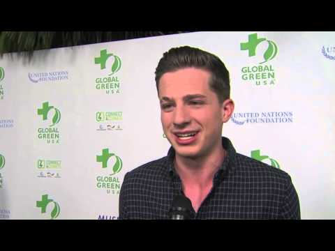 Global Green USA Pre Oscar Party: Charlie Puth Interview
