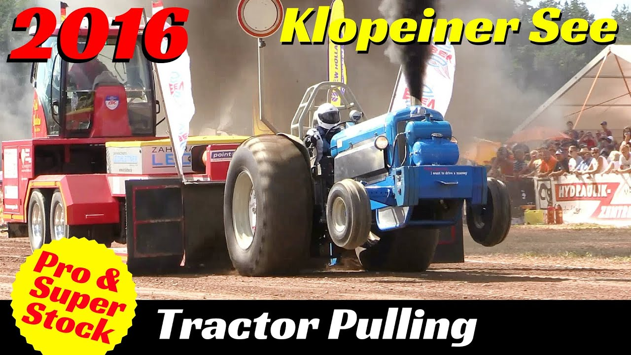 Super Pro Stock Pulling Tractor : Tractor pulling klopeiner see pro stock super