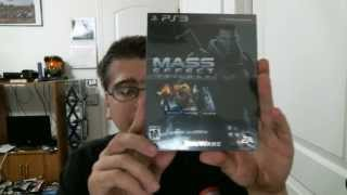 Mass Effect Trilogy PS3 Unboxing