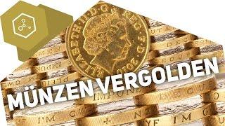 Münzen vergolden & Legierungen - Die Theorie