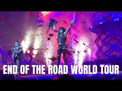 Rock And Roll All Nite (LIVE) - KISS (End of the Road World Tour 2019)