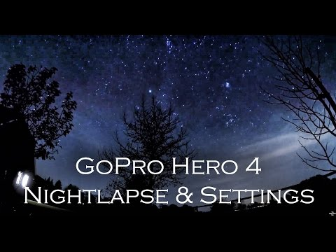 Gopro Hero 4 | Night lapse Time lapse with Settings #1
