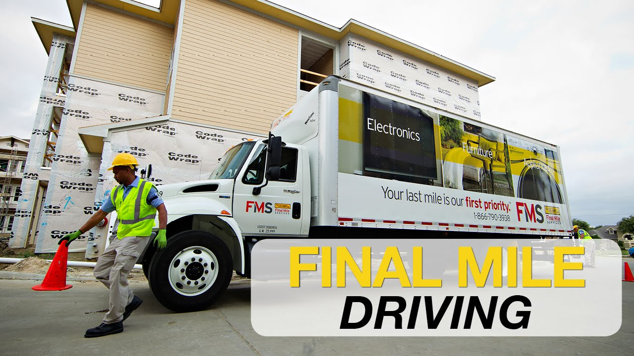 J B  Hunt Final Mile Driving and Delivery