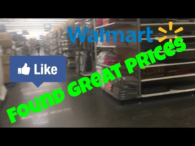 shopping clearance in Walmart !!!! Hidden prices!!! Lousiana