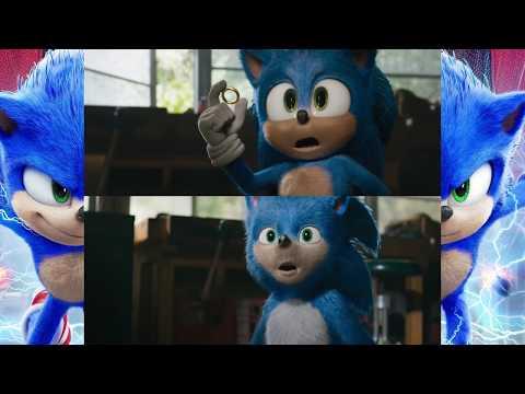 Sonic Movie Scene Comparison Redesign Vs Original Youtube