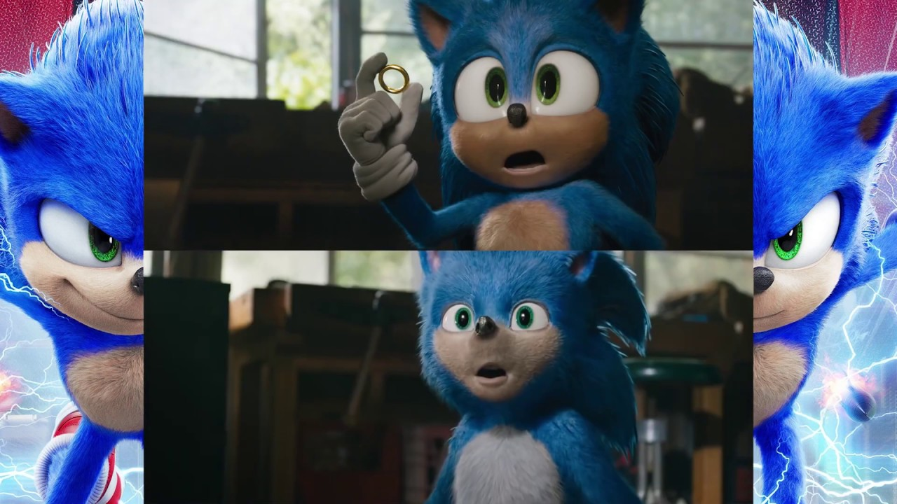 Sonic Movie Scene Comparison Redesign Vs Original Youtube